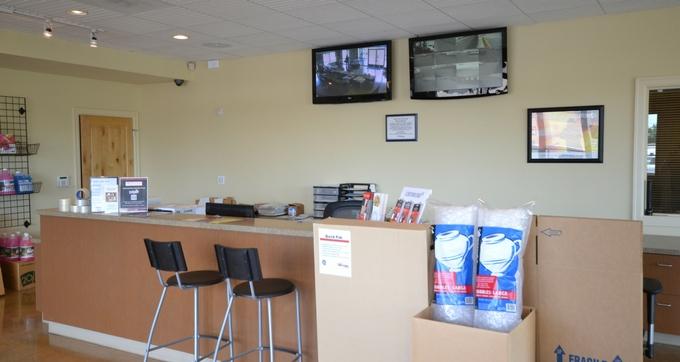 North Plains RV Storage and Self Storage rental office