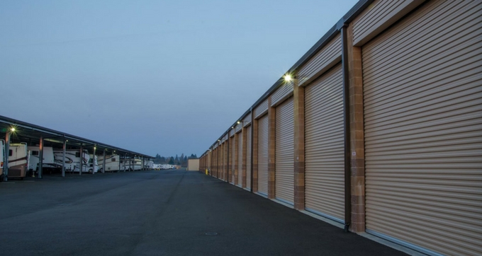 Large fully enclosed RV storage North Plains, OR
