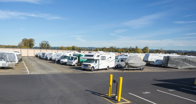 Portland outdoor RV storage